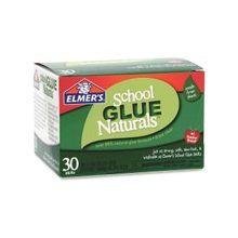 Elmer's School Glue Naturals 30 pack 6g Glue Stick - 0.212 oz - 30 / Pack