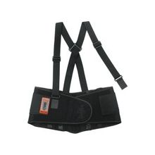 "ProFlex High-performance Back Support - Adjustable, Strechable, Comfortable - 38"" Adjustment - Strap Mount - 8.5"" - Black"
