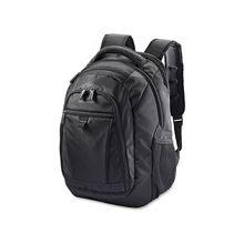 "Samsonite Tectonic 2 Carrying Case (Backpack) for 15.6"" Notebook - Black - Shock Resistant Interior, Slip Resistant Shoulder Strap - Poly Ballistic - Shoulder Strap, Handle - 16.9"" Height x 12.2"" Width x 8.2"" Depth"