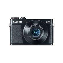"Canon PowerShot G9 X 20.2 Megapixel Compact Camera - Black - 3"" Touchscreen LCD - 16:9 - 3x Optical Zoom - 4x - Optical (IS) - TTL - 5472 x 3648 Image - 1920 x 1080 Video - HDMI - PictBridge - HD Movie Mode - Wireless LAN"
