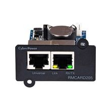 CyberPower RMCARD205 UPS & ATS PDU Remote Management Card - SNMP/HTTP/NMS/Enviro Port - 10/100Base-TX, Serial