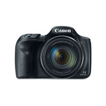"Canon PowerShot SX540 HS 20.3 Megapixel Compact Camera - Black - 3"" LCD - 16:9 - 50x Optical Zoom - 4x - Optical (IS) - TTL - 5184 x 3888 Image - 1920 x 1080 Video - HDMI - PictBridge - HD Movie Mode - Wireless LAN"