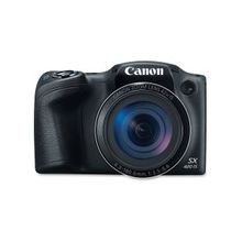 "Canon PowerShot SX420 IS 20 Megapixel Compact Camera - Black - 3"" LCD - 16:9 - 42x Optical Zoom - 4x - Optical (IS) - TTL - 5152 x 3864 Image - 1280 x 720 Video - PictBridge - HD Movie Mode - Wireless LAN"