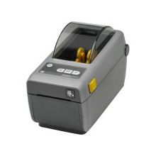 "Zebra ZD410 Direct Thermal Printer - Monochrome - Desktop - Label/Receipt Print - 2.20"" Print Width - 5.98 in/s Mono - 203 dpi - 256 MB - Bluetooth - USB - Ethernet - Roll Fed, Continuous Receipt, Receipt, Tag Stock, Fanfold, Black Mark, Direct Thermal L"