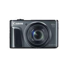 "Canon PowerShot SX720 HS 20.3 Megapixel Compact Camera - Black - 3"" LCD - 16:9 - 40x Optical Zoom - 4x - Optical (IS) - TTL - 5184 x 3888 Image - 1920 x 1080 Video - HDMI - PictBridge - HD Movie Mode - Wireless LAN"
