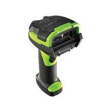 Zebra LI3608-SR Handheld Barcode Scanner - Cable Connectivity1D - Imager - Industrial Green, Black