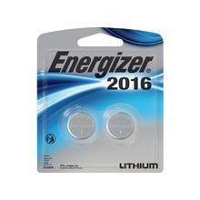 Energizer 2016 3V Watch/Electronic Batteries - Lithium (Li) - 3 V DC - 24 / Carton