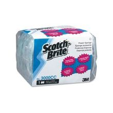 "Scotch-Brite Power Pads - 0.7"" Height x 4.5"" Width x 2.8"" Depth - 60/Carton - Aqua"