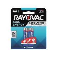 Rayovac Alkaline AA Batteries - AA - Alkaline - 96 / Carton