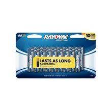 Rayovac Alkaline AA Batteries - AA - Alkaline - 1.5 V DC - 216 / Carton