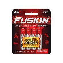 Rayovac Fusion Battery - AA - Alkaline - 192 / Carton
