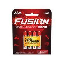 Rayovac Fusion Advanced Alkaline AAA Batteries - AAA - Alkaline - 240 / Carton