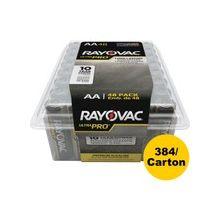 Rayovac Ultra Pro Battery - AA - Alkaline - 384 / Carton