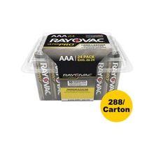 Rayovac Ultra Pro Battery - AAA - Alkaline - 288 / Carton