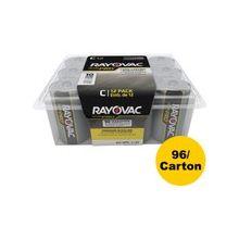 Rayovac Ultra Pro Battery - C - Alkaline - 96 / Carton