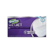 Swiffer WetJet Cleang Pad Refill - Pad - 96 / Carton - Green