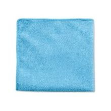 """Rubbermaid Commercial Blue MF Cleaning Cloth - Cloth - 12"""" Width x 12"""" Length - 288 / Carton - Blue"""