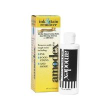 Amodex Ink / Stain Remover - 4 oz (0.25 lb) - 72 / Carton - White