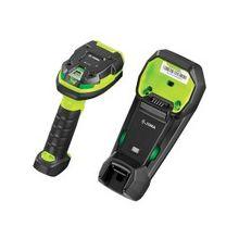 Zebra LI3678 Handheld Barcode Scanner - Wireless Connectivity1D - Imager - Bluetooth - Industrial Green, Black