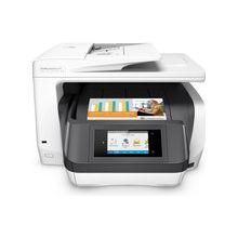 "HP Officejet Pro 8730 Inkjet Multifunction Printer - Color - Plain Paper Print - Desktop - Copier/Fax/Printer/Scanner - 36 ppm Mono/36 ppm Color Print - 2400 x 1200 dpi Print - 1 x Input Tray 250 Sheet, 1 x Output Tray 150 Sheet - 4.3"" Touchscreen - 1200"