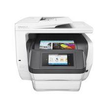 "HP Officejet Pro 8740 Inkjet Multifunction Printer - Color - Plain Paper Print - Desktop - Copier/Fax/Printer/Scanner - 36 ppm Mono/36 ppm Color Print - 2400 x 1200 dpi Print - 1 x Input Tray 250 Sheet, 1 x Output Tray 150 Sheet - 4.3"" Touchscreen - 1200"