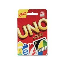 Mattel UNO Card Game - Classic Card Game - Great Group Game - Fast Fun for Everyone!™