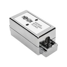 Tripp Lite Cat6 Cat5e 110 Style Punch Down Coupler Shielded Junction Box - Silver - ABS Plastic