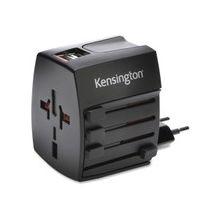 Kensington International Travel Adapter - 120 V AC, 230 V AC Input Voltage - 5 V DC Output Voltage - 2.40 A Output Current