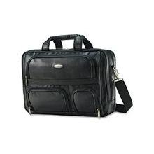 "Samsonite Carrying Case (Briefcase) for 15.6"" Notebook - Black - Shoulder Strap, Handle - 12"" Height x 12"" Width x 6.5"" Depth"