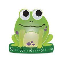 Ashley Frog-shaped Timer - 1 Hour - Desktop - For Sports - Green