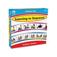 Carson-Dellosa Learning To Sequence 6-scene Board Game - Puzzle