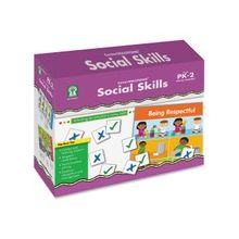 Carson-Dellosa PreK-2 Social Skills File Folder Game - Educational
