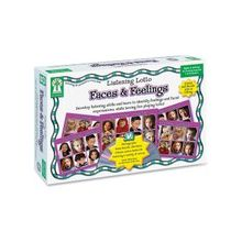 Carson-Dellosa Grades Pre K-1 Faces/Feelings Board Game - Educational - 1 to 12 Players
