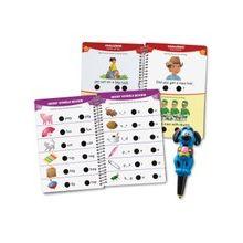 Hot Dots Jr. Let's Master Kindergarten Reading Interactive Education Printed Book - Book