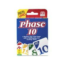 UNO Phase 10 Card Game - 2 to 6 Players