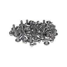 """StarTech.com PC Mounting Computer Screws M3 x 1/4in Long Standoff - 50 Pack - Computer Assembly Screw - 0.25"""" - Hex - Philips - 50 Pack"""
