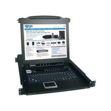 "Tripp Lite 16-Port Rack Console KVM Switch w/ 17"" LCD PS/2 1U - 16 Computer(s) - 17"" LCD - 16 x SPDB-15 Keyboard/Mouse/Video - 1U Height"