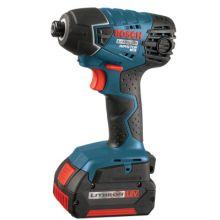 Bosch Power Tools 25618-01 18.0 Vt Litheon Impact Driver W 2 Fat Pack Batt