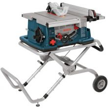 """Bosch Power Tools 4100-09 10"""" Worksite Table Saw W/ Gravity-Rise Stand"""