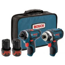 Bosch Power Tools CLPK27-120 12 Max Two Tool Combo Kit (Ps21 &Ps41)