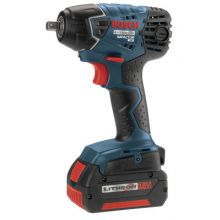 Bosch Power Tools IWH181-01 18.0 Vt Litheon Impach Wrench 3/8 In Dr W/2 Batt