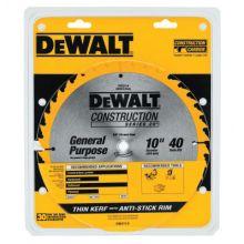 """Dewalt DW3114 10"""" 40T Thin Kerf Table"""