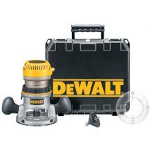 Dewalt DW618K 2-1/4 Hp Electronic Vs Fixed Base Router Kit
