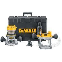 Dewalt DW618PK 2-1/4 Hp Electronic Vs Fixed/Base Plunge Base Ro