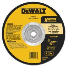 "Dewalt DW8439 9""X5/8""X5/8""-11 Pipeliner Cutting/Grinding Wheel (10 EA)"