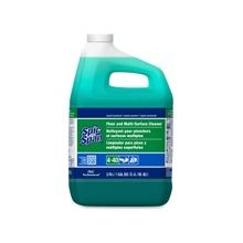 P&G Spic and Span Floor Cleaner - Liquid Solution - 1 gal (128 fl oz) - 1 Each - Green