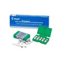 Pilot Mechanical Pencil Eraser Refill - Lead Pencil Eraser - 5/Pack - White