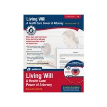 Adams Living Will & Power of Attorney for Health Care Kit - Legal Kit - 1 - PC, Intel-based Mac - Forms and Instructions