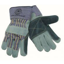 "Memphis Glove 1911 Double Palm Leather Glove Bullseye 2 1/2"" Safe (1 PR)"
