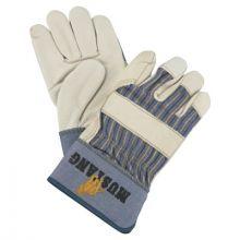 Memphis Glove 1935M Mustang Grain Leather Palm Gloves W/2- (1 PR)